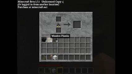 Minecraft Ep 1 - Как да оцелеем първата Нощ