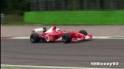 Чудесният звук от V10 болиди на Ferrari