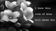 Julio Iglesias And I love her Lyrics