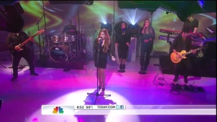 Demi Lovato - Give Your Heart A Break Live At Today Show 03-06-2012