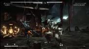 Mortal Kombat X - Goro vs Sonya Blade