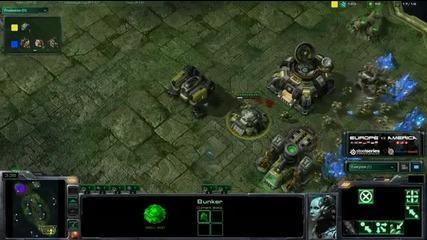 Bratok vs Slush - Game 3 - Tvz - America vs Europe - Jungle B