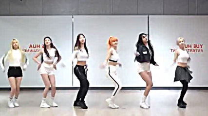 Everglow - Salute dance practice mirrored