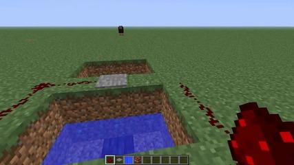 Minecraft как се прави - изтрелвачка за хора