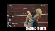 Vickie Guerrero прави Frog Splash в памет на Eddie Guerrero - Wrestlemania 26