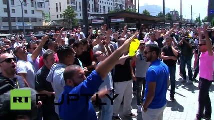 France: Anti-Uber protesters shutdown Lyon