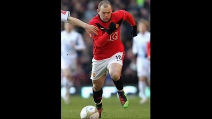Wayne Rooney and Chicharito
