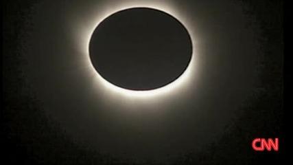 22.07 Пълно слънчево затъмнение - Поглед от Япония