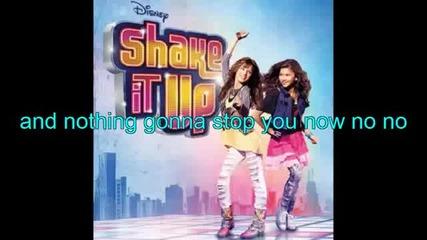 Disney Channel - Shake It Up Roll The Dice Lyrics Full Song!