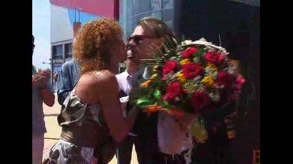 Васко Кеца със звезда в Алеята на славата