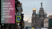 Why former USSR countries are speaking more Russian