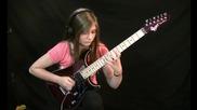 Antonio Vivaldi - Summer / the Four Seasons (кавър на китара от 14-годишно момиче)