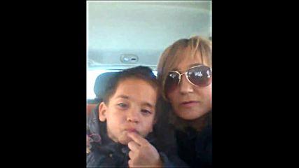 2016.03.14 - Първо селфи на Тео с Криси