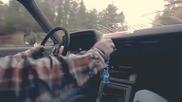 Епичен дрифт с Toyota Cressida , къса гуми по хълмовете в Норвегия!