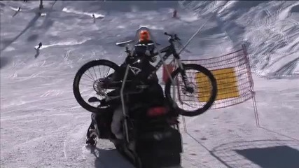 Mtb Gee Athertons Snow Crash in Tignes