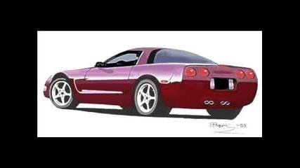 Картинки На Рисувани Автомобили
