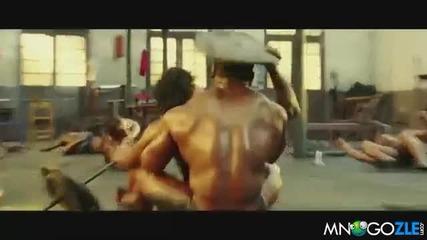 Боливуд Сцена във фитнеса