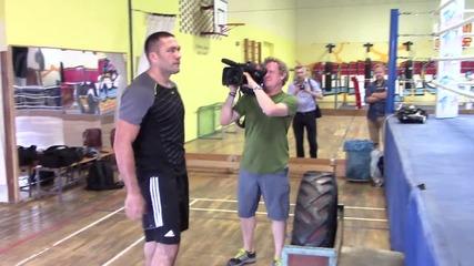 Как Кобрата се подготвя срещу Кличко