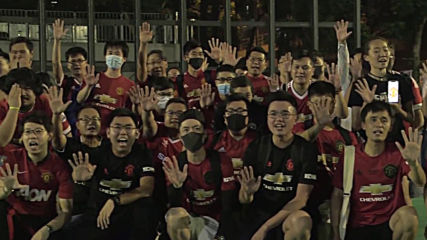 Hong Kong: Fans of different football clubs unite in anti-govt protest