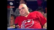 Music Idol 2 - 31.03.08г. - Иван Ангелов обяснява на Фънки за глупостта от видеото