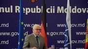 Moldova: Steinmeier says OSCE is 'facing tough times' during Chisinau visit