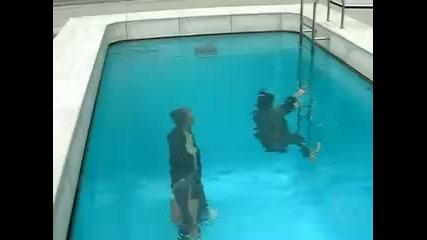 Изкуствен плувен басейн - стиска ли ти да се метнеш ?