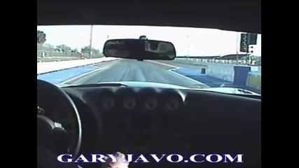 Street Dodge Viper Twin Turbo 1700hp drag race