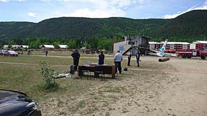 Russia: 2 killed, 30 injured as An-24 plane makes emergency landing in Buryatia *STILLS*