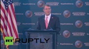 "USA: Defense Secretary says US military must respond to Russian ""provocations"""