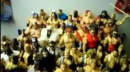 My Old wwe Classic Toys Collection