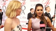 Nina Dobrev Talks Gorgeous Gowns and Sweatpants