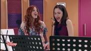 Cami and Frani singing Aprendi a decir adios