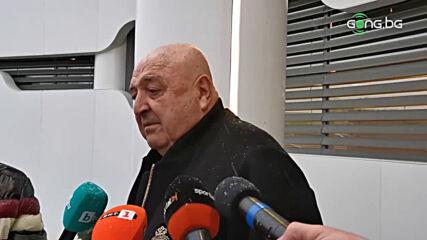 Венци Стефанов с коментар след Изпълкома на БФС