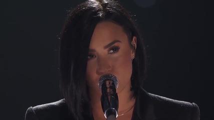 Demi Lovato - Stone Cold - iheartradio Music Awards 2016