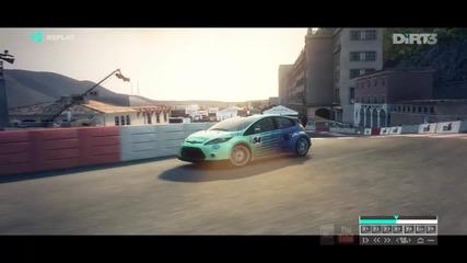 Ford Fiesta vs Subaru Impreza wrx Sti Dirt 3 [ Full H D ]