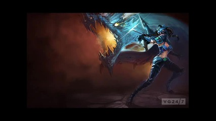 Dubstep Music for Playing Vayne (league of Legends Dubstep)
