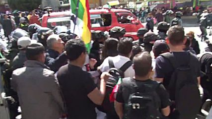 Bolivia: Opposition holds protest against Morales's re-election bid