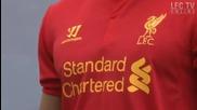 Liverpool представи новите екипи за сезон 2012-13