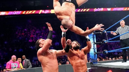 Oney Lorcan & Danny Burch vs. Drew Gulak & Tony Nese: WWE 205 Live, Oct. 11, 2019