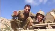 Войнишки танци - Because I'm Happy в армията