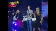 Music Idol 3 Ели Симона И Дарко - One Love 23.03.2009
