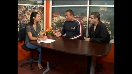 Dj Nuclear & Dj Rusi Mc - Евроком Царевец - на тема - Българските диджеи