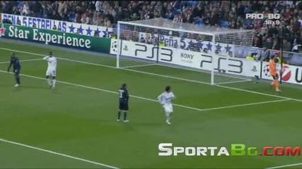 Реал Мадрид 1 - 1 Олимпик Лион 1/8 реванш Шампионска Лига (общ резултат 1:2) 10.03.2010.