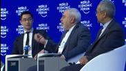 Switzerland: Zarif talks Iran nuclear deal, tells Saudis not to 'panic' at WEF