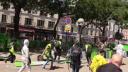 France: Scuffles break out at Yellow Vests protest in Paris