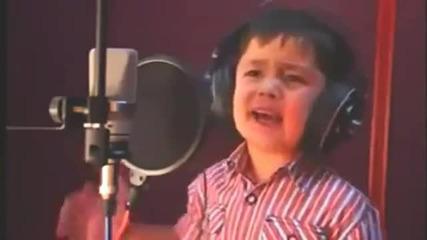 Страхотен Глас на 4 годишно Дете Журабек Жураев / Узбекистан 2013