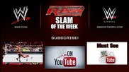 The Viper Attacks The Lunatic - Wwe Raw Slam of the Week 7/7