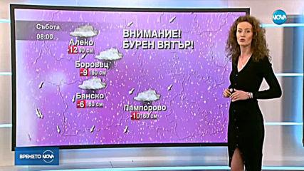 Прогноза за времето (22.02.2019 - централна)