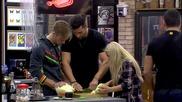 Боби започна да дава уроци по готварство