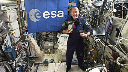 Spain: ISS commander joins UN chief Guterres at COP25 via video link from space